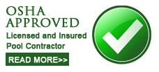 OSHA Certified Pool Contractor