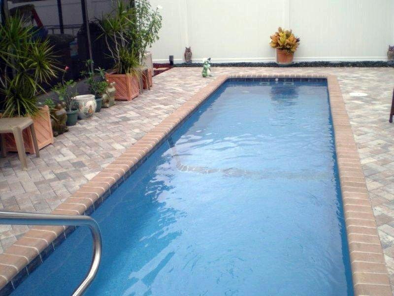 Custom Backyards With Lap Pool Mesmerizing Heritage Custom Pools  Viking Pools Exercise Pool Swimming Pool
