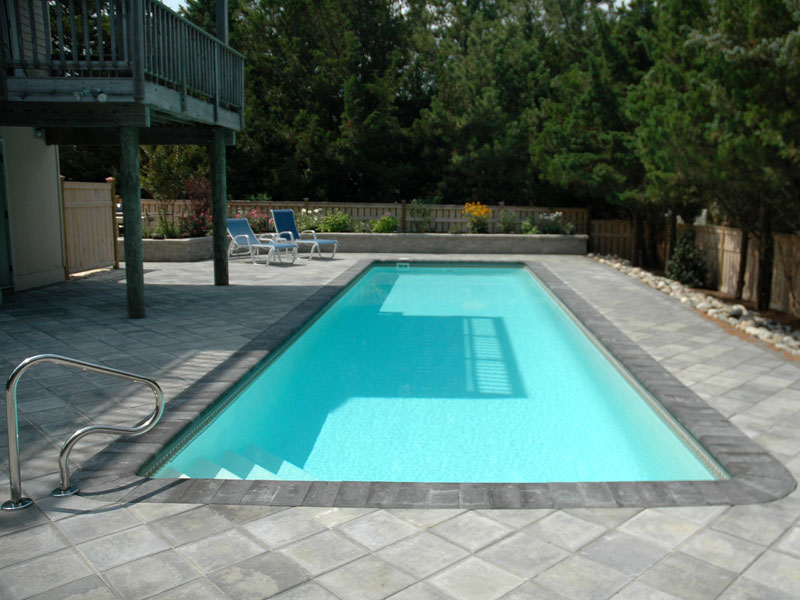 Custom Backyards With Lap Pool Fair Heritage Custom Pools  Viking Pools Exercise Pool Swimming Pool