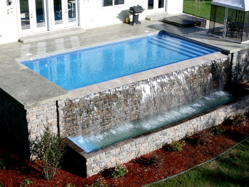 Heritage Pools Vanishing Edges For Your Viking Pools