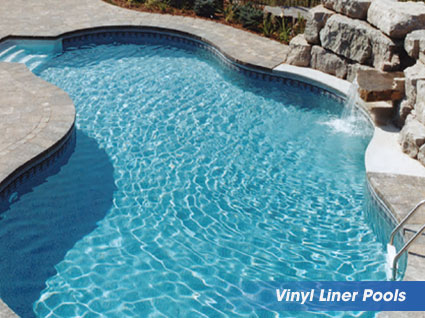 vinyl liner swimming pools from heritage pools